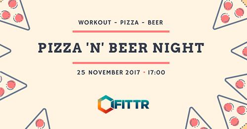 Pizza 'n beer night