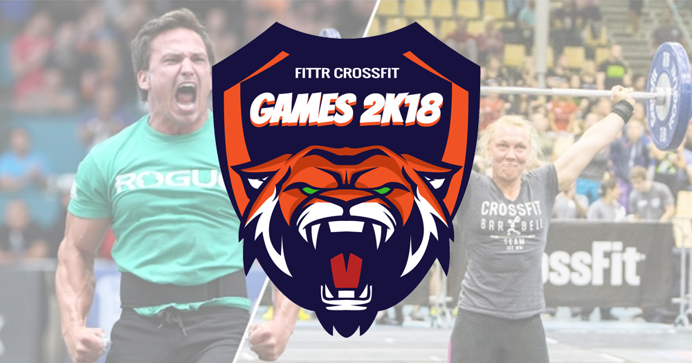 Banner FITTR Games 2k18