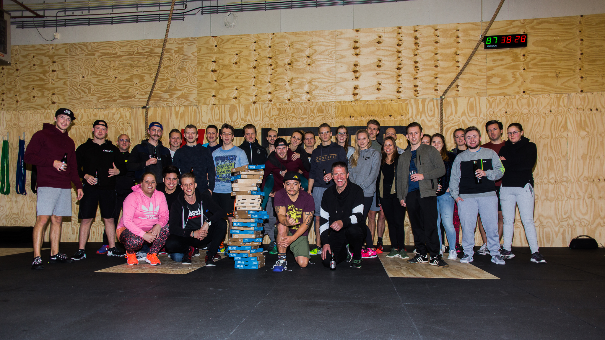 PIZZA WOD - Wildest! Fotografie