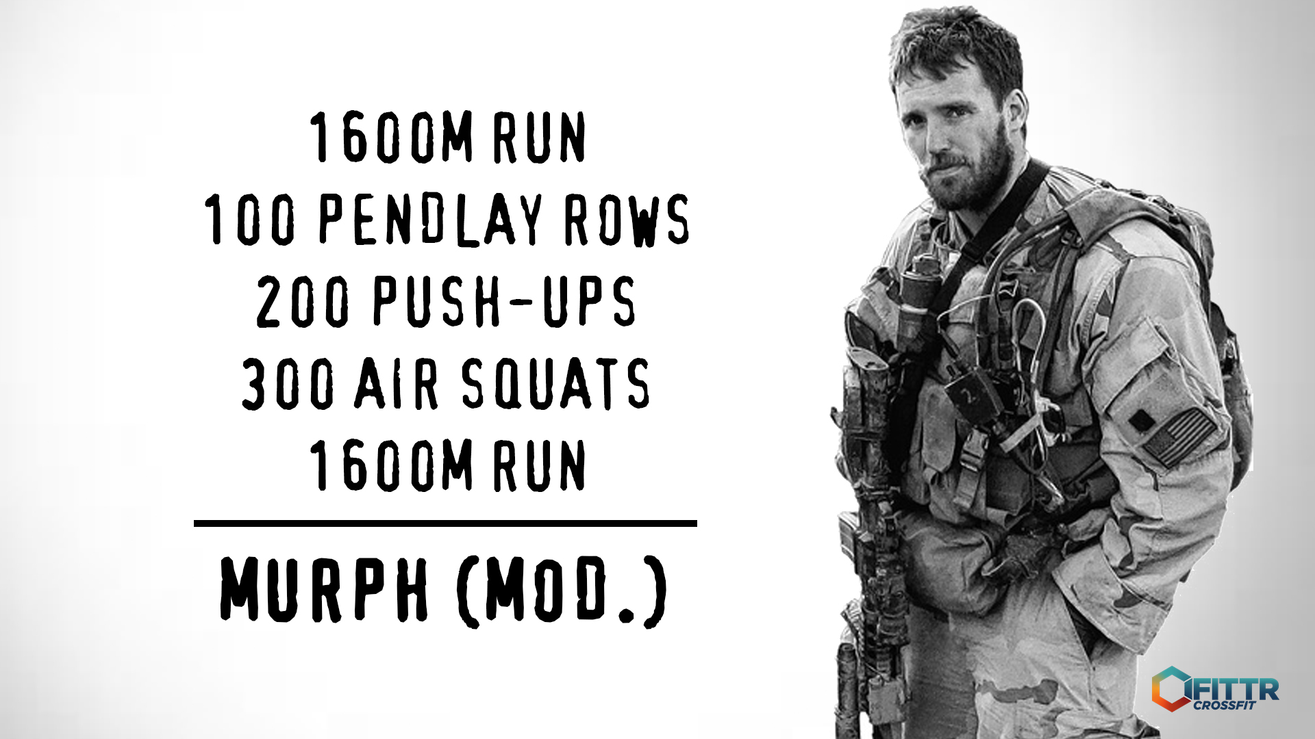 Modified Murph hero workout Covid-19